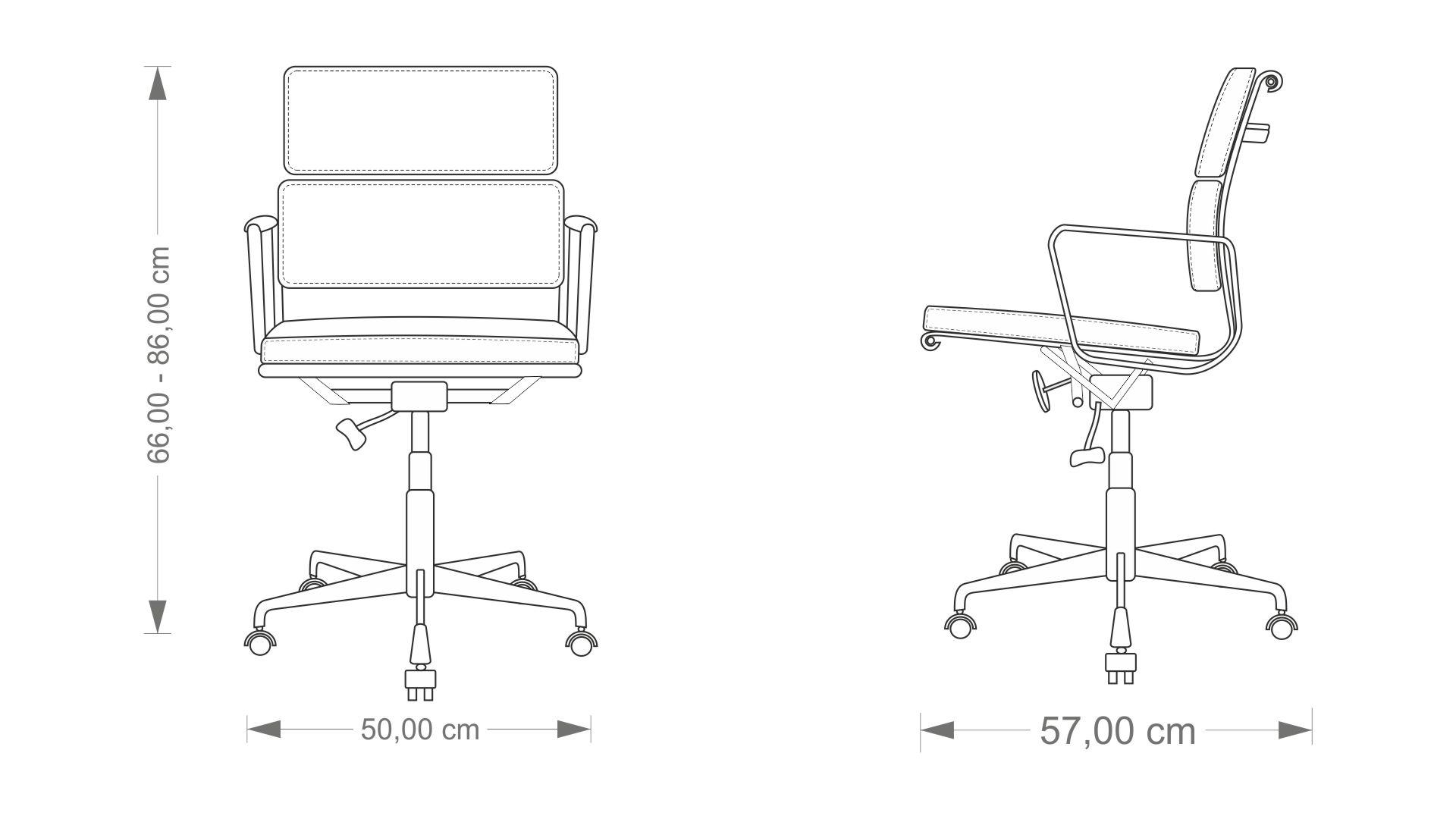 Eames EA 217 Chair