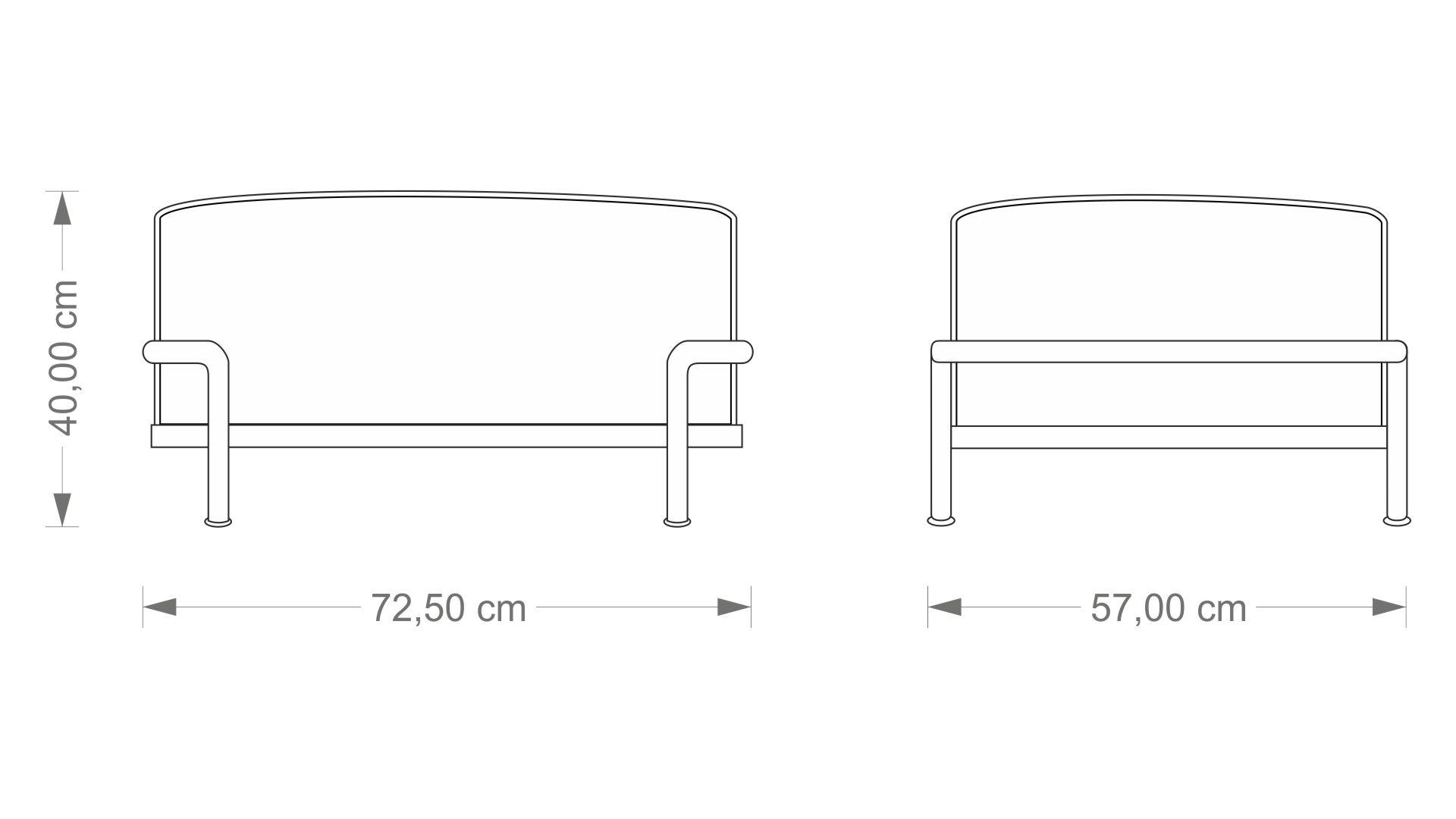 Le Corbusier LC2 Ottoman